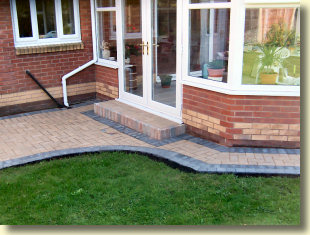 conservatory paving